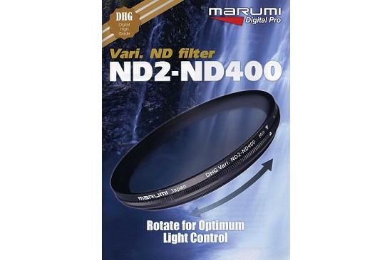Filtri Marumi DHG Variabile ND2-ND400