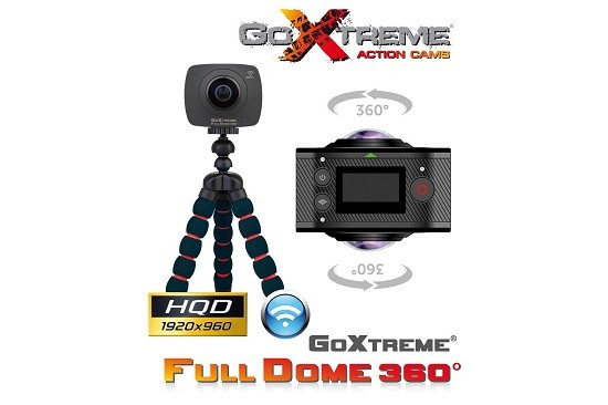 Action cam GoXtreme Full Dome 360°