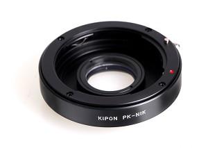 Tresor anello di conversione kipon da nikon a pentax k pentax su nikon obiettivi minolta per - Pulizia specchio reflex ...