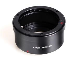 Tresor anello di conversione kipon da canon eos m a olympus om anello di conversione kipon da - Pulizia specchio reflex ...