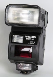 flash dedicato Minolta AF | flash dedicato Minolta Dynax | Tintron flash | flash Tintron Minolta AF