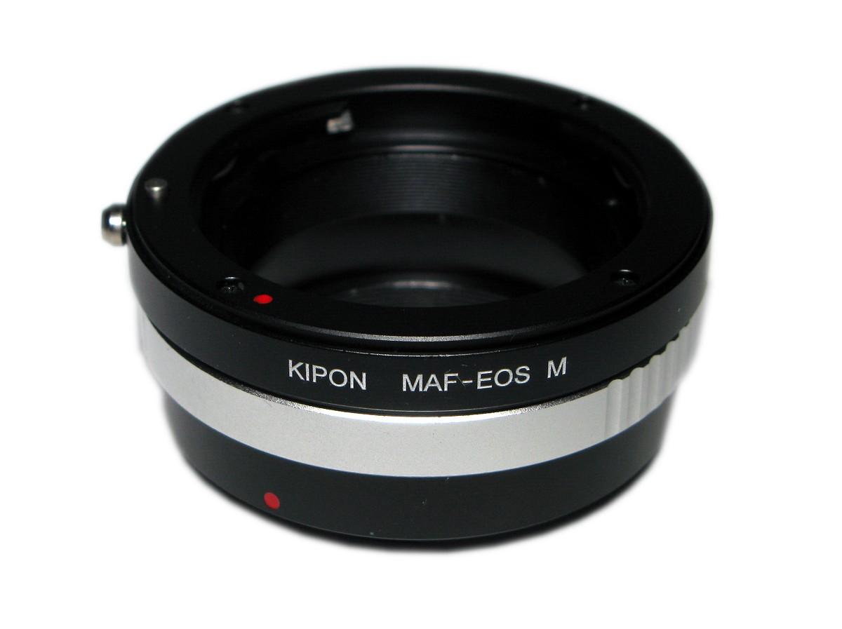 anello adattatore sony alpha canon eos
